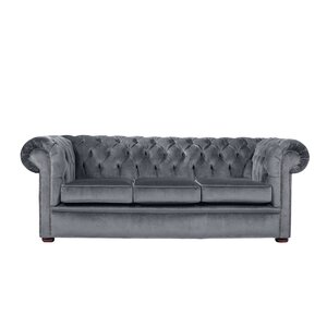 Chesterfield ecksofa stoff grau  Chesterfield Sofas | Wayfair.de