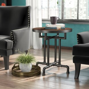 Dudek Industrial End Table by Williston Forge