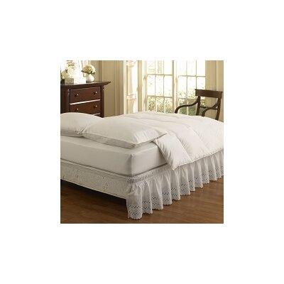 Ettore Wrap Around Eyelet Ruffled Bed Skirt