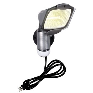 Cooper Lighting LLC 100-Watt Outdoor Security Flood Light with Motion Sensor