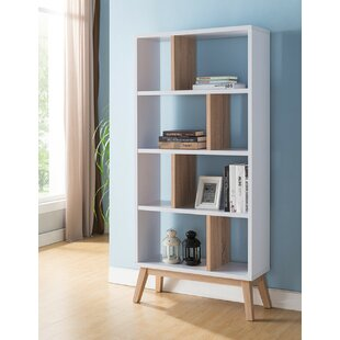 Mcneeley Geometric Bookcase By Latitude Run