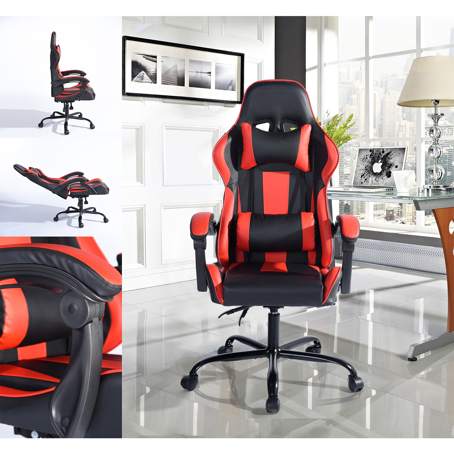 Amazing Klar Gaming Chair Andrewgaddart Wooden Chair Designs For Living Room Andrewgaddartcom