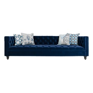 Shop Navy Chesterfield Sofa by ModShop