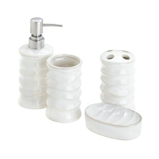 Online Reviews Pamela 4 Piece Bathroom Accessory Set By World Menagerie