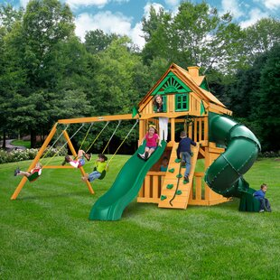 Sportspower Live Oak Slide And Swing Set Amazing Furniture