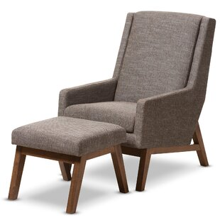 Exceptionnel Brydon Upholstered Lounge Chair And Ottoman