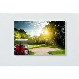 Golf Motif Magnetic Wall Mounted Cork Board By Ebern Designs