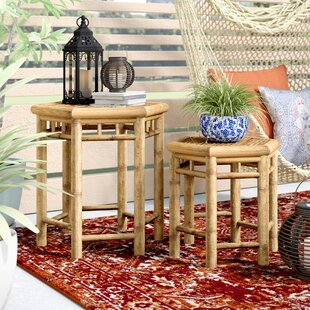 Bloomsbury Market Kapono 2 Piece Side Table Set