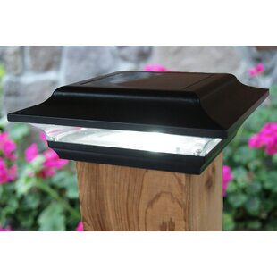 Imperial 1 Light LED Solar Fence Post Cap