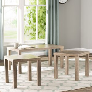 Sunbury 3 Piece Coffee Table Set