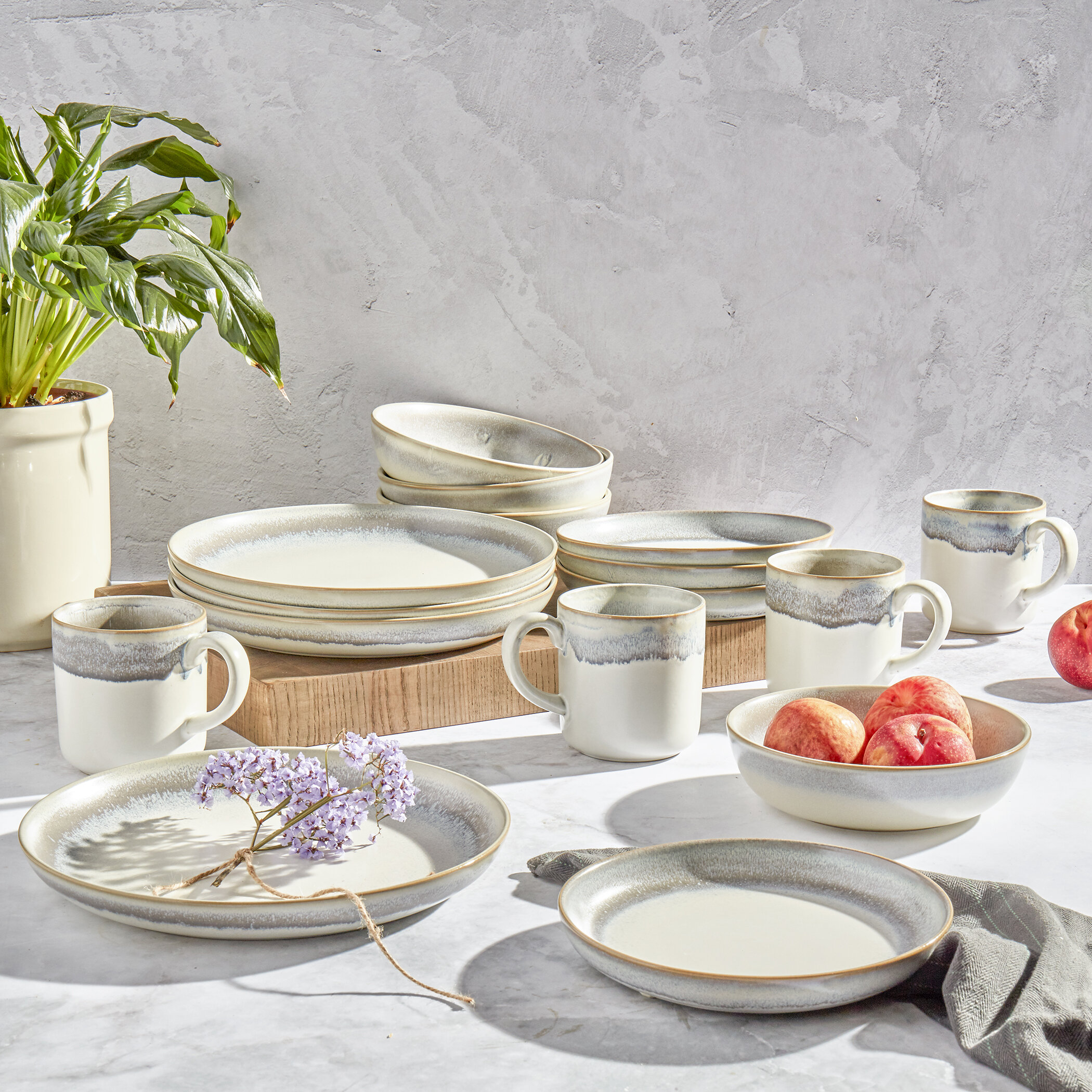 Rustic Dinnerware You Ll Love In 2021 Wayfair