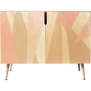 Blush Accent Cabinet by East Urban Home
