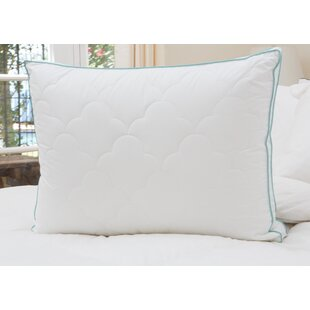 Alwyn Home 1 Pack Scallop Cloud Quilted Gusset Down Alternative Pillow