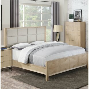 Holmquist Upholstered Panel Bed by Union Rustic