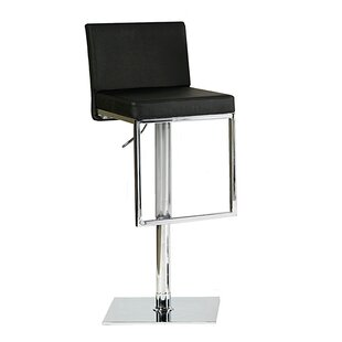 Ann Adjustable Height Swivel Bar Stool Bellini Modern Living