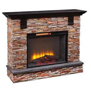 Aryan Infrared Electric Fireplace by Loon Peak