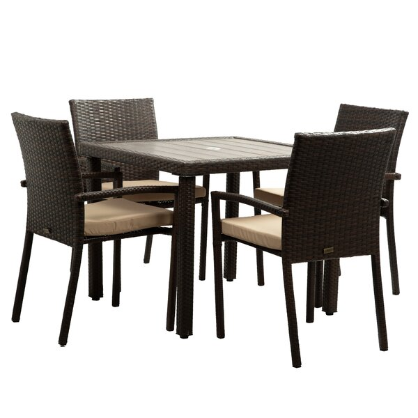 Patio Table And Umbrella Set Wayfair