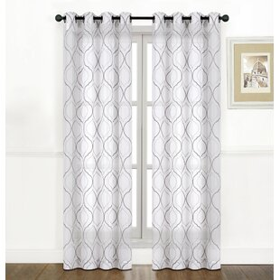 m curtain assorted voile trellis panels embroidered pack curtains grommet sheer ebay colors bhp