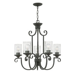 Fleur De Lis Living Carlyle 5-Light Shaded Chandelier