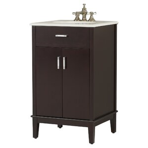 pinecrest 21 single bathroom vanity set