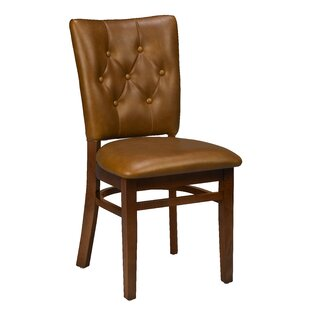 Annamaria Beechwood Button Tufted Upholstered Dining Chair DarHome Co
