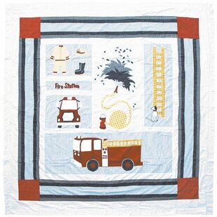 Patch Magic Fire Truck Cot..