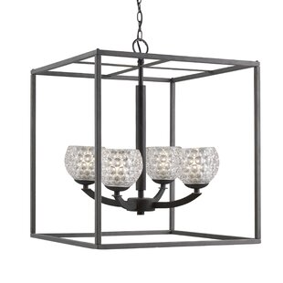 Heavner 4-Light Foyer Pendant by Ebern Designs