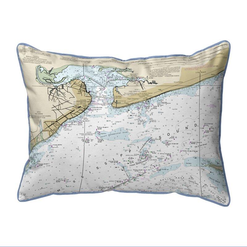 East Urban Home St Louis Bay Ms Zippered Indoor Outdoor Lumbar Pillow Wayfair