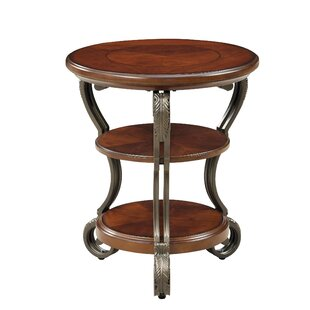 Halpern 3 Tier End Table by Fleur De Lis Living