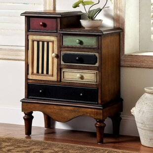 Redondo 5 Drawer Accent Chest by August Grove