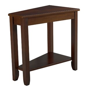 Gertie Wedge Chairside Table by August Grove