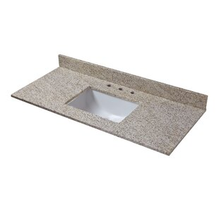 Looking for Granite 49 Single Bathroom Vanity Top ByHalstead International