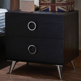 Great choice Bermondsey 2 Drawer Nightstand by Ivy Bronx