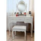 Ponticus Deluxe Vanity Set with Mirror by One Allium Way®