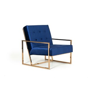 West Tisbury Upholstered Armchair by Everly Quinn