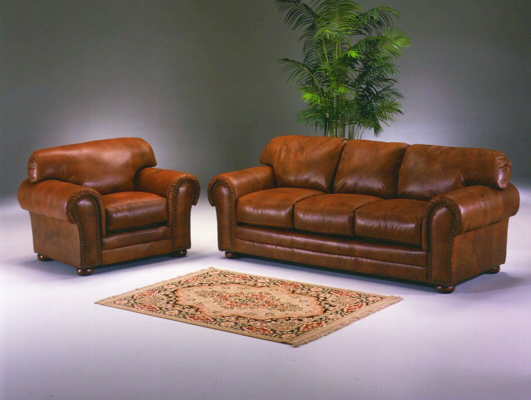 Winchester Leather Configurable Living Room Set Part 73