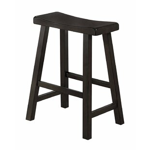 Rita Wooden 24 Bar Stool (Set of 2) by Winston Porter