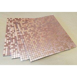 Copper L And Stick Backsplash Tile You Ll Love Wayfair