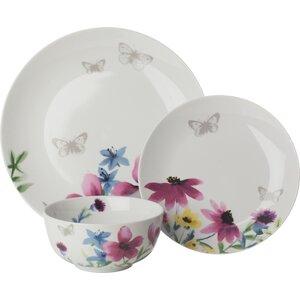 12 Piece Dinnerware Set, Service for 4 (Set of 4)