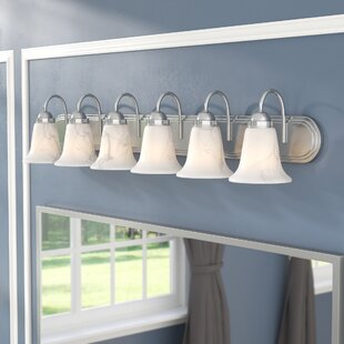 Three Posts Tiverton Strip 6-Light Vanity Light