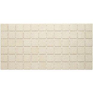 "Dalton 12"" x 24"" Porcelain Mosaic Tile in Putty Speckle by"