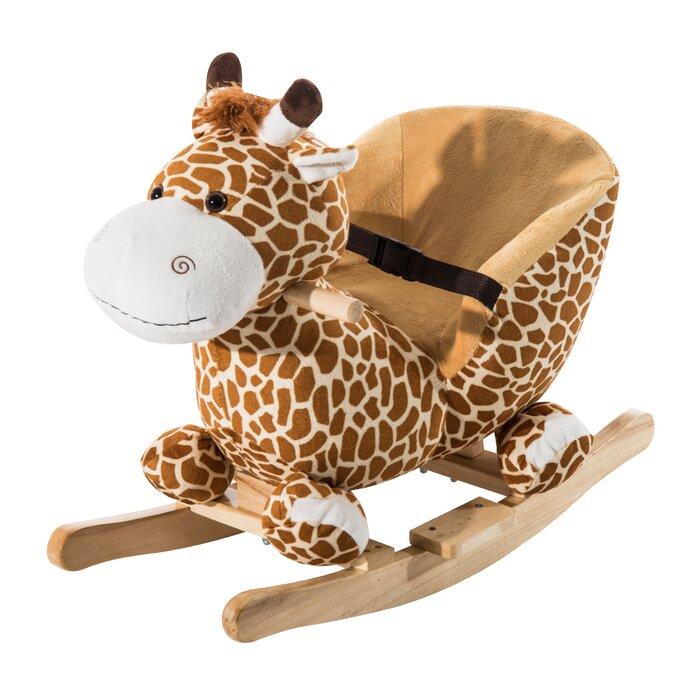 Giraffe Plush Rocker