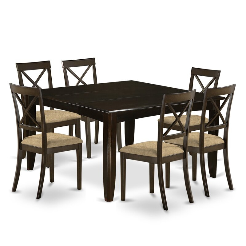 August Grove Pilning Solid Wood Dining Set
