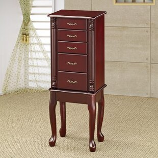 Top Reviews Falke Traditional Style Wooden Jewelry Armoire By Astoria Grand