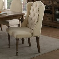 Antonie Upholstered Dining Chair (Set of 2) One Allium Way