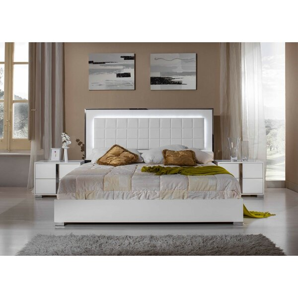 Wade Logan Yandel Panel 5 Piece Bedroom Set & Reviews | Wayfair