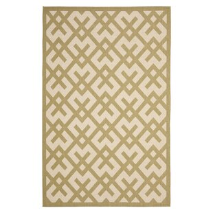 Jefferson Place Beige/Green Indoor/Outdoor Area Rug