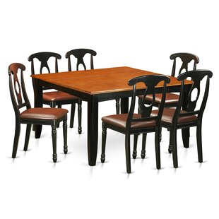 Pilning Contemporary 7 Piece Dining Set August Grove