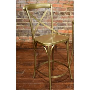 Wilna Counter Bar Stool by Gracie Oaks