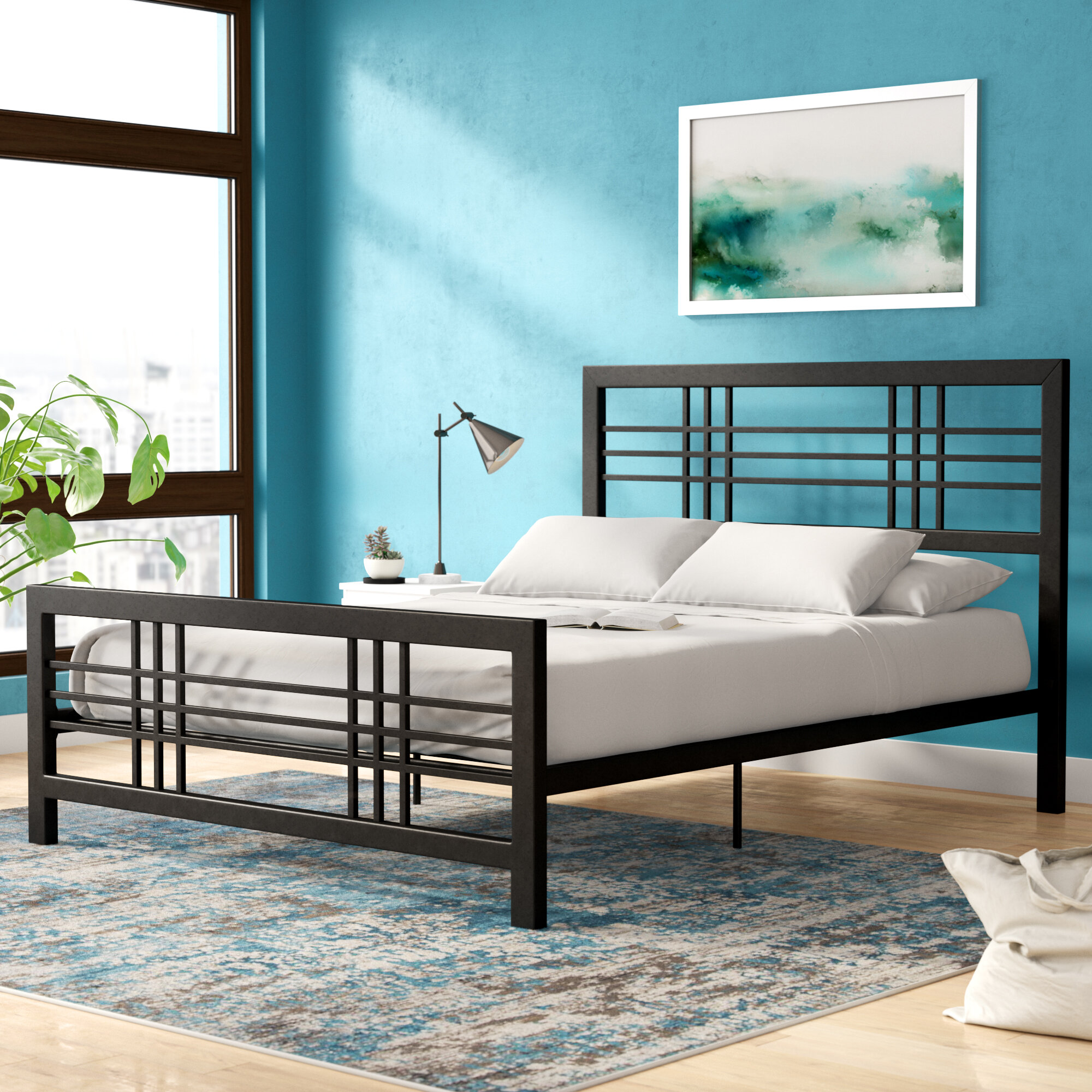 Picture of: Double Full Size Beds Wayfair
